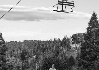 Wedding Ski Lift